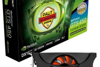 Palit представила быструю видеокарту GTS 450 1GB SONIC Platinum