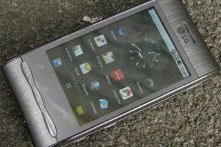 Обзор смартфона LG GT540 Optimus