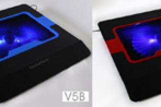 GlacialTech анонсировала охлаждающие подставки для ноутбуков серии V- Shield