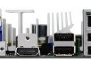 Материнская плата Foxconn AHD1S-K с гибридным процессором AMD E-350