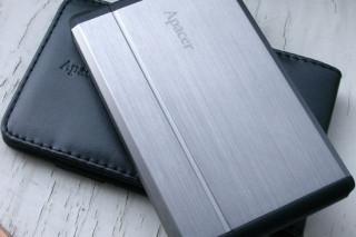 Обзор внешнего HDD накопителя Apacer AC430 (500 ГБ)