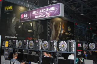 В Киевском игровом клубе «Киев Кибер Спорт Арена» открылась первая в Украине «3D зона LG»