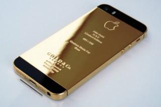 Версия iPhone 5S из золота и платины