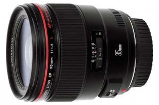 Новый объектив Canon EF 35mm f/1.4L II USM