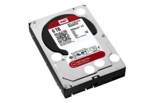 Жесткие диски WD Red Pro теперь доступны с объемом 6 ТБ