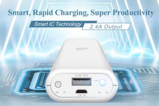Silicon Power представляет быстрозаряжающий внешний аккумулятор с технологией Smart IC и выходной силой тока 2.4A