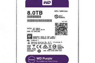 Western Digital представляет жесткие диски объемом 8 ТБ для NAS