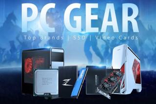 PC Gear: акция на SSD, HDD, видеокарты и процессоры