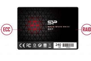 Состоялся официальный нового SSD Silicon Power S57