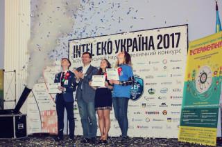 EDG GROUP  поддержала талантливых  украинских  школьников, участников конкурса Intel Эко-Украина 2017