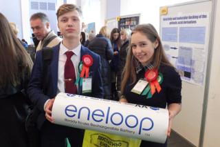 Panasonic eneloop – партнер конкурса молодых украинских ученых