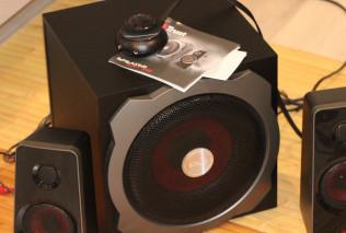 Обзор акустической системы TRUST GXT 38 2.1 Subwoofer Speaker Set