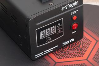 Обзор стабилизатора EnerGenie EG-AVR-D500-01