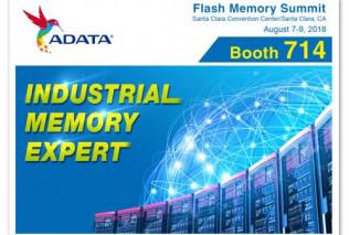 ADATA продемонстрирует новейшие индустриальные и коммерческие решения на Flash Memory Summit 2018