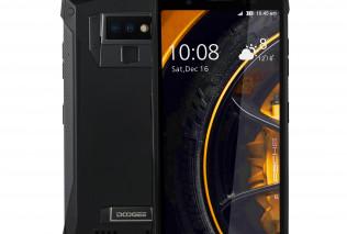 DOOGEE S80 –  смартфон-рация в защищенном по трем стандартам корпусе с 6 ГБ оперативной памяти и аккумулятором на 10080 мАч