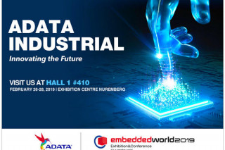 ADATA представит на Embedded World 2019 полную линейку индустриальных систем хранения