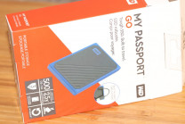 Обзор внешнего SSD WD My Passport Go 500 ГБ Blue (WDBMCG5000ABT-WESN)