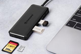 Transcend представляет HUB5C: USB-хаб 6-в-1 с разъемом Type-C