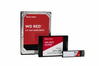 Western Digital представила линейку WD Red для сетевого хранилища данных