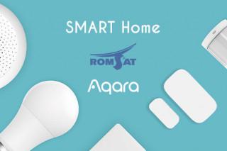 Компания РОМСАТ — партнер Aqara в Украине