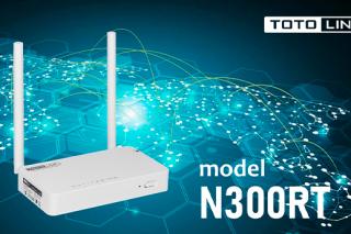 Новый маршрутизатор TOTOLINK N300RT