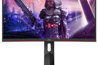 AOC представляет четыре изогнутых игровых монитора с частотой 165 Гц