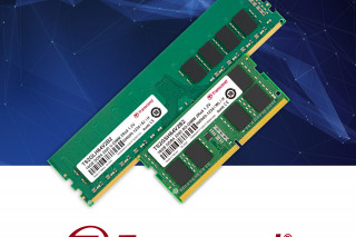 Модули памяти Transcend DDR4-3200, оптимизированные под передачу данных в эпоху 5G