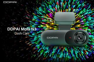 DDPai Dash Cam Mola N3 1600P HD GPS — компактный видеорегистратор с Wi-Fi