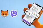Фокстрот подключил способ оплаты через Viber
