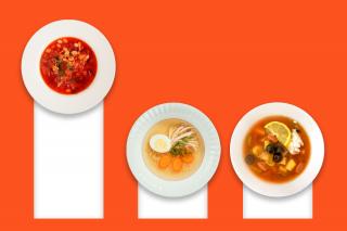 Самые популярные блюда украинцев в октябре — статистика от Raketa