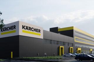 Kaercher строит гигантский офис под Киевом
